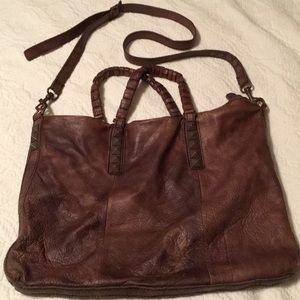 Soft leather Liebskind messenger bag